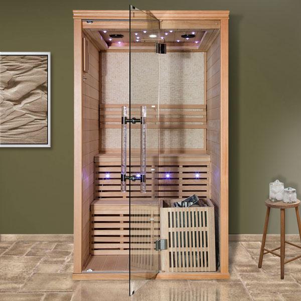 Fínská sauna Luxury Helsinki