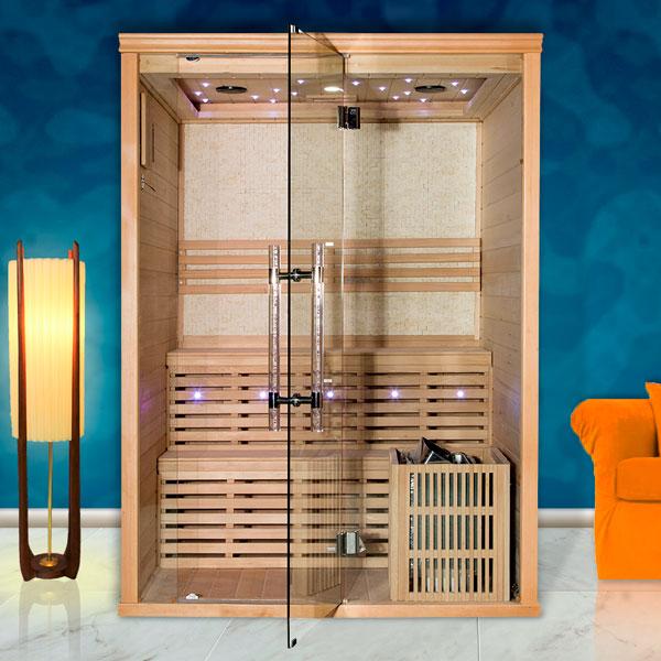 Fínská sauna Luxury Oslo