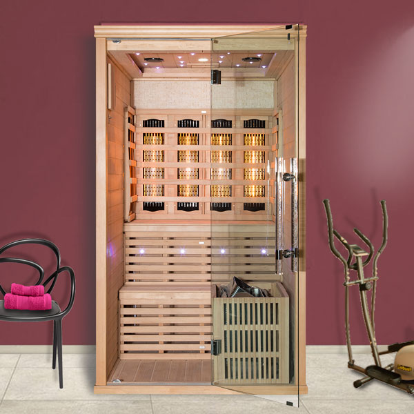 Kombinovaná sauna Luxury Helsinki
