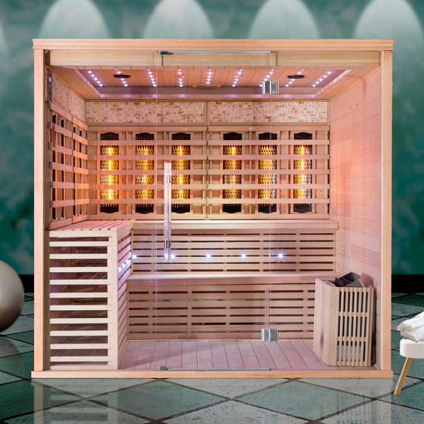 Kombinovaná sauna Luxury Monte Carlo