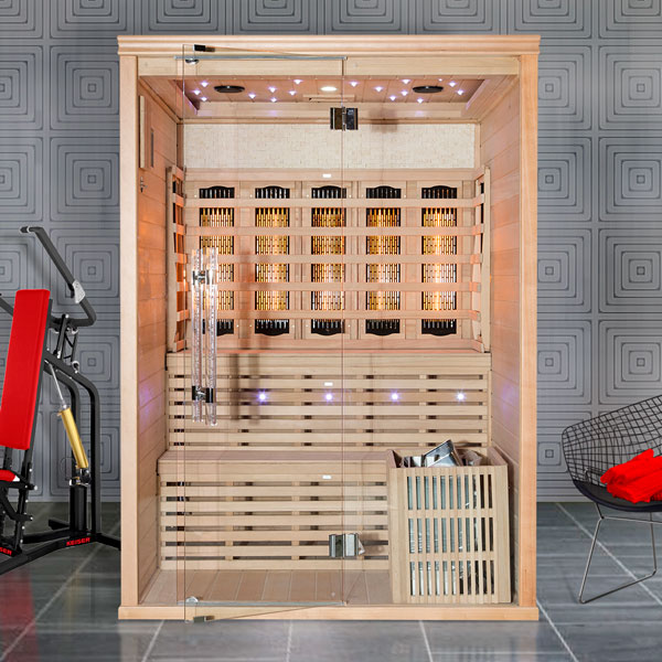 Kombinovaná sauna Luxury Oslo