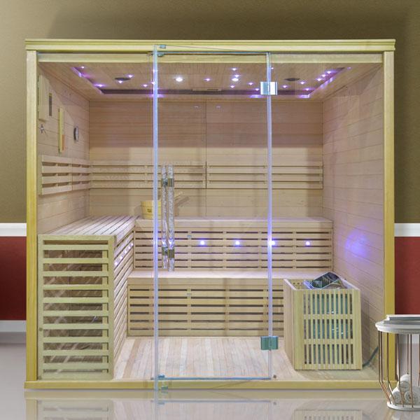 Fínská sauna Luxury Monte Carlo