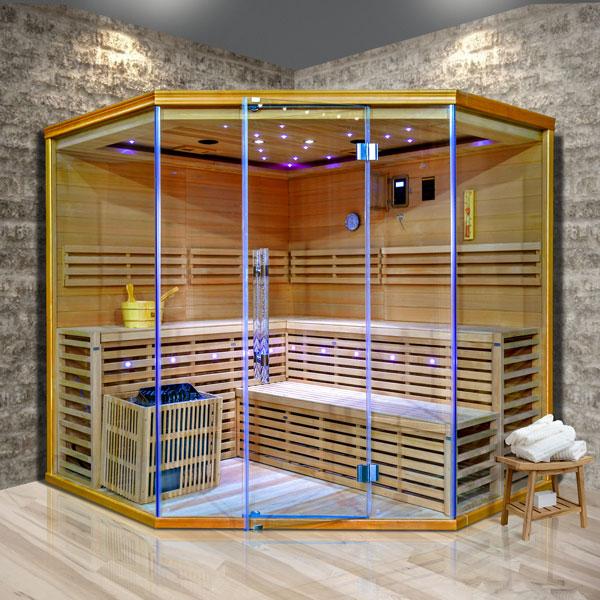 Fínská sauna Luxury Stockholm