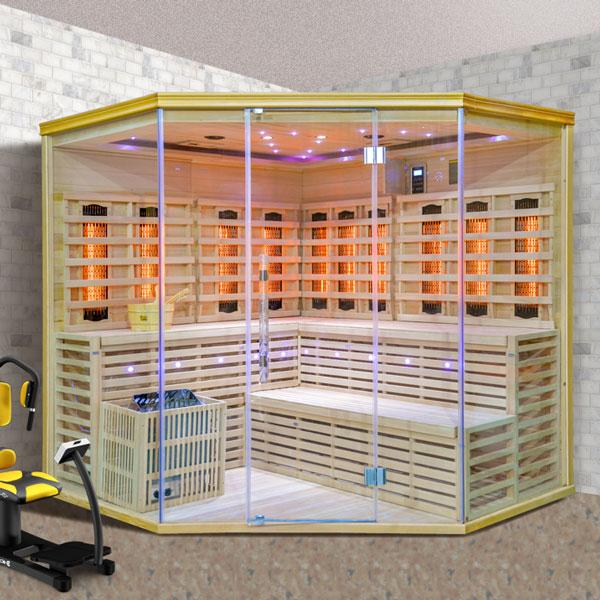 Kombinovaná sauna Luxury Stockholm