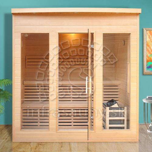 Fínska sauna Fernie Extra Glass