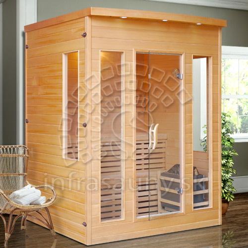 Fínska sauna Oslo Extra