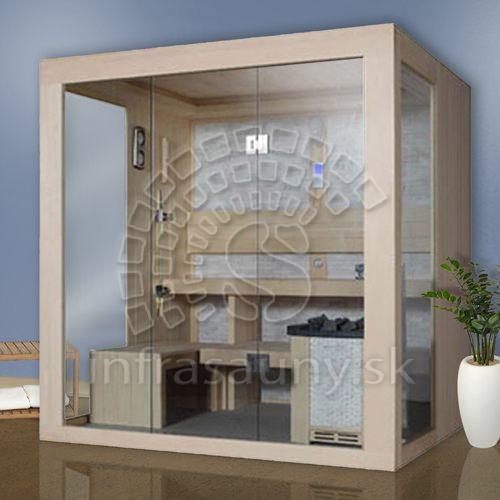 Fínská sauna Luxury Praha