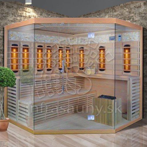 Kombinovaná sauna Luxury Bratislava